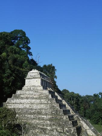Temple of the Inscriptions, Archaeological Site of Palenque