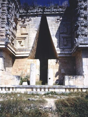 The Arch of the Governor's Palace, Archaeological Site in Uxmal