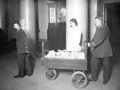 The Transfer of Gold at a Bank, St Petersburg, Early C20th