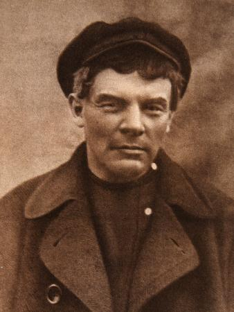 Photograph of VI Lenin for His Workers Certificate