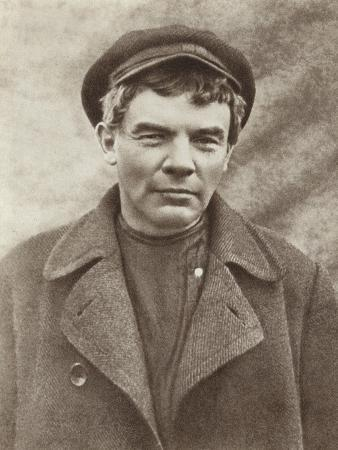 Lenin in Disguise, Wearing a Wig, Razliv Station, August 1917