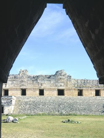 The Access Arch to the Nunnery Quadrangle in Uxmal