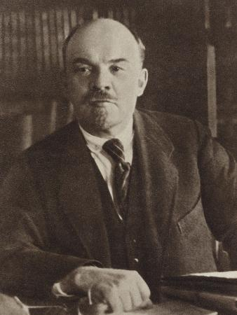 Lenin in His Study in the Kremlin, Moscow, 4 October 1922