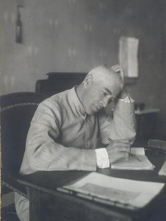 Portrait of the Theatre Director Constantin Stanislavski