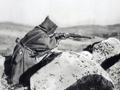 Moorish Soldier Fighting under Nationalist Command, 1936-39