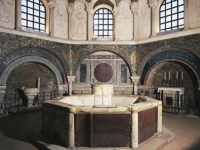 Interior, Neonian Baptistery or Orthodox Baptistery
