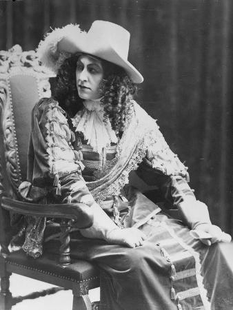 M. Bjorling Performing a Role in Strindberg's 'Kristina', 1908