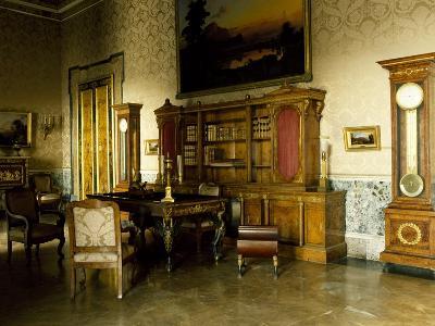 Study of King Joachim Murat, Interior of Royal Palace of Naples