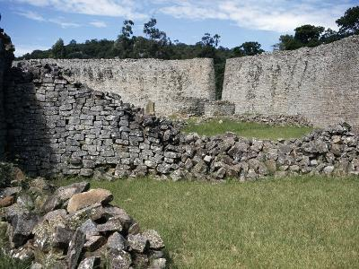 The West Entrance Seen from Inside Fence of Great Zimbabwe