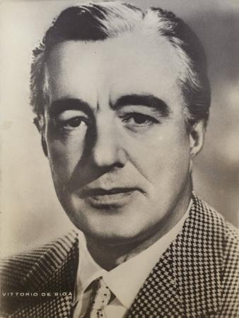 Vittorio De Sica, Italian Film Director and Actor