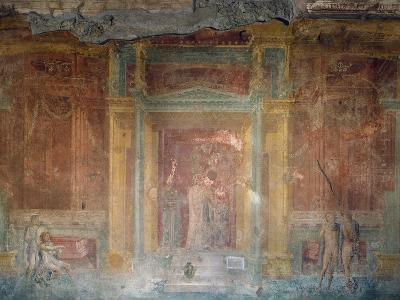 Fresco Depicting Iphigenia in Tauris, House of Pinarius Cerialis, Pompeii