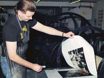 Processes of Etching: Stage 4 - Revealing the Final Print