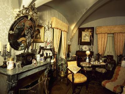 Private Room of Royal Family in Palacio Nacional Da Pena, Sintra