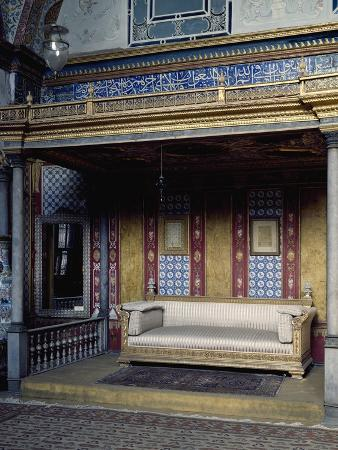 Hall of Imperial Harem, Topkapi Palace, Historic Areas of Istanbul