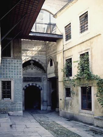 Street in Harem, Topkapi Palace, Historic Areas of Istanbul