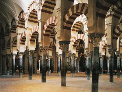Vault in Interior of 8th-10th Century Mosque, Cordoba