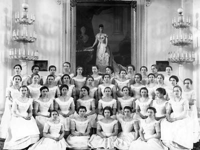 Pupils of the Smolny Institute Dressed for Dancing