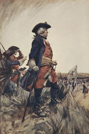 Frederick the Great, Illustration from 'A History of Germany', 1913