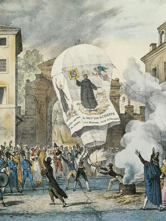 Hot Air Balloon for San Giuseppe Day in Rome