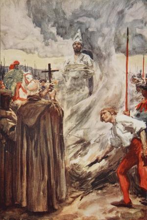 The Burning of John Huss on July 6th 1415