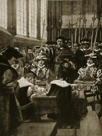 An Intrusion of Wolsey Upon the Commons