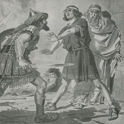 Croesus, King of Lydia, Is Saved from Death by the Voice of His Deaf and Dumb Son
