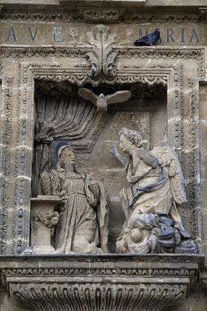Annunciation, Decoration on Entrance, Charterhouse of Jerez De La Frontera