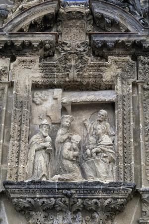 Holy Family with Three Kings, Decoration on Entrance, Charterhouse of Jerez De La Frontera