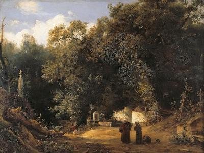 Capuchin Monks at the Hermitage of Sant'Eframo, 1830