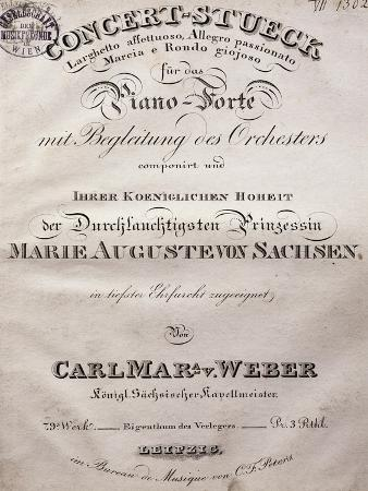 Title Page of Concertos for Pianos