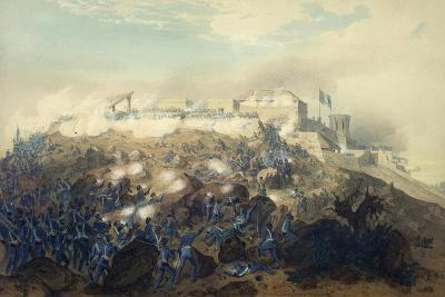 The Storming of Chapultepec Castle by American Troops, September 14, 1847
