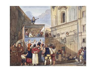 Puppet Theatre in Roman Church of Saints Quirico and Giuditta