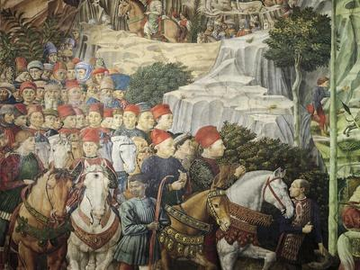 Procession Showing Cosimo the Elder, Detail from the Procession of the Magi