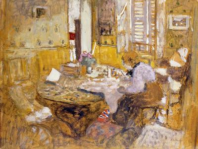 Madame Vuillard Reading in the Dining Room