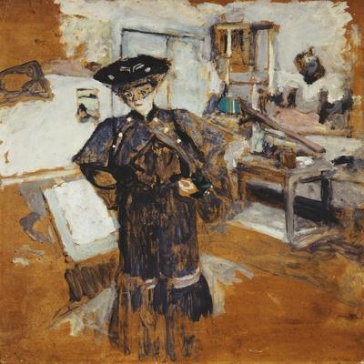 Lady in a Veil, with Hands on Hips; Dame a La Voilette, Les Mains Sur Les Hanches, C.1902-03