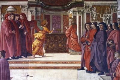 Italy, Florence, Santa Maria Novella, Main Chapel or Tornabuoni Chapel