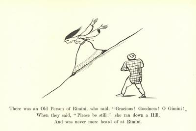 "There Was an Old Person of Rimini, Who Said, ""Gracious! Goodness! O Gimini!"""