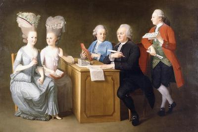 A Group Portrait of Monsieur Le Roy