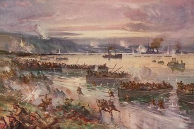 The Dardanelles Operations: the Landing of the Australians in Gallipoli, April 1915