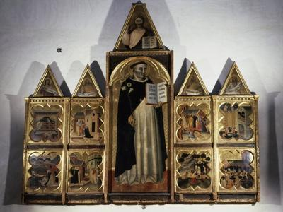Polyptych of San Domenico and Hagiographic Scenes of His Life, 1344-1345