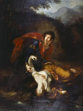 Radimisto Flinging Zenobia Injured into the River Araxes, 1812