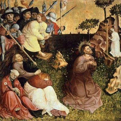 Prayer in Garden, Panel from the Wurzach Altarpiece, 1437