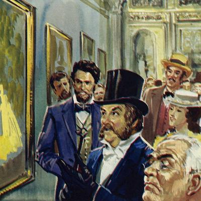 La Loge Was Renoir's Contribution to the First Exhibition of Impressionists