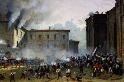 Swiss in Porta San Pietro, Perugia, During Events of 1859