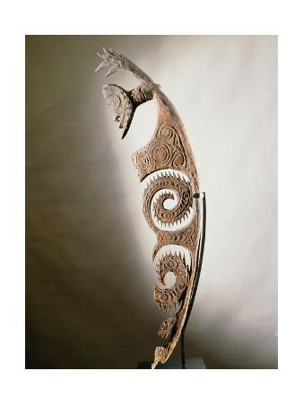 Stylised Figure of Spirit, Ewa Culture, Upper Karawari River, Sepik Region