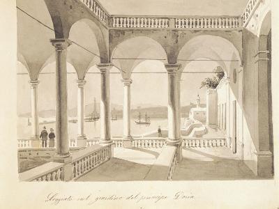 The Loggia of Palazzo Doria Pamphilj in Genoa