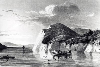 Mackenzie River, Engraving from Account of Second Expedition to Shores of Polar Sea, 1825-1827