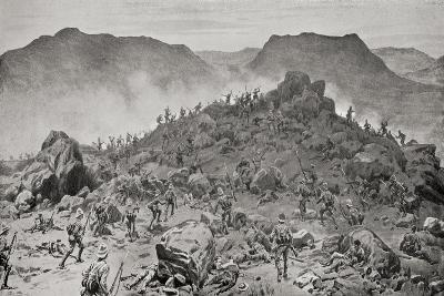 The Battle of Belmont, from 'South Africa and the Transvaal War'