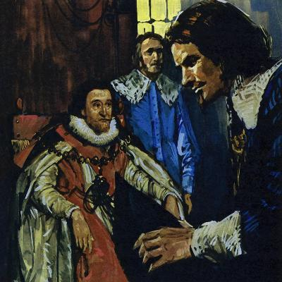 Van Dyck Came to the Attention of the Earl of Arundel Who Introduced Him to King James I