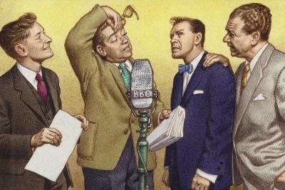 Hancock's Half Hour: Kenneth Williams, Tony Hancock, Bill Kerr and Sid James